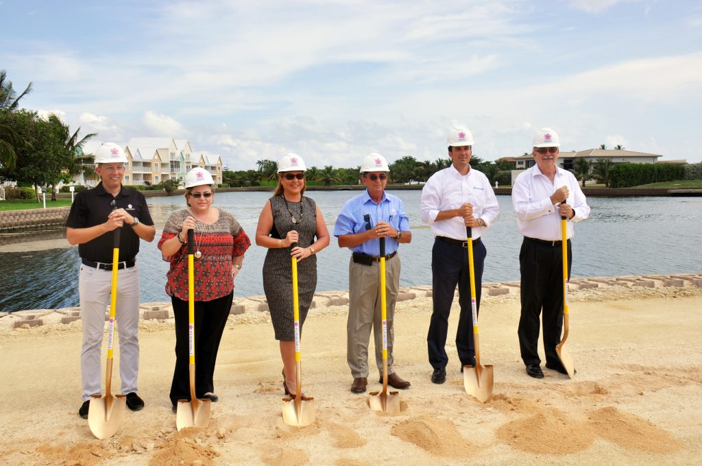 Periwinkle ground breaking moment